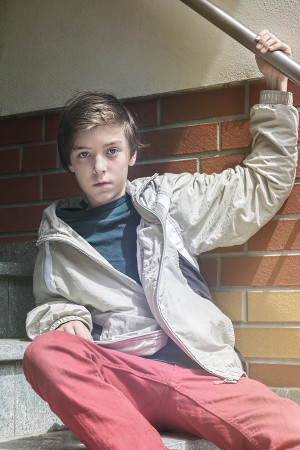 Photo of teenage boy